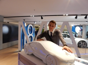 An elder at the BMW factory